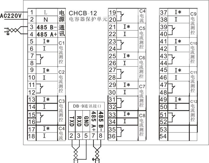 chcb电容器保护单元